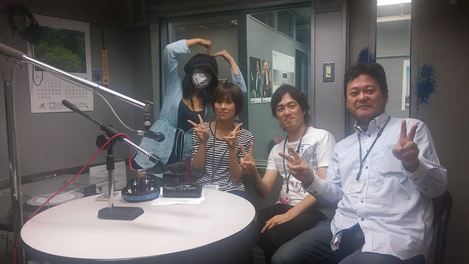 Tokyo FMでラジオ収録でした。
